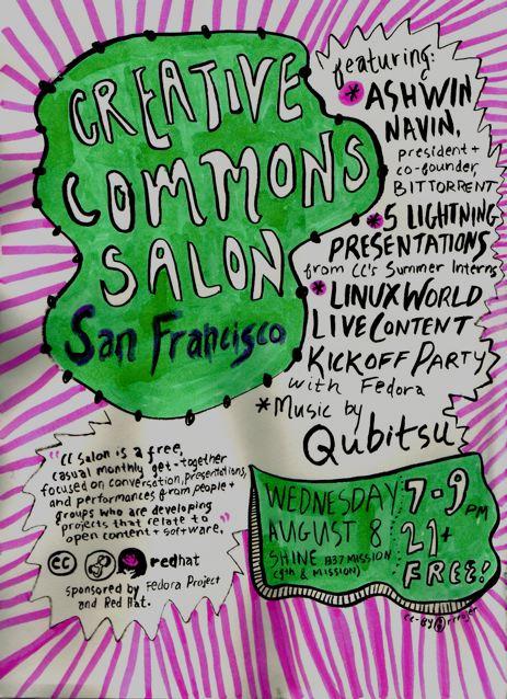 CC Salon Aug 8 2007 Flier