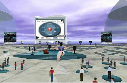 3D Conference Screen Shot