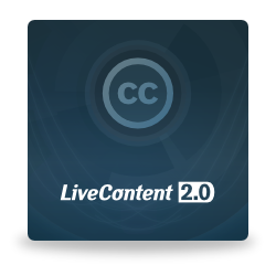 LiveContent 2.0 cover
