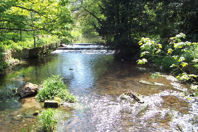 The stream at Longnor
