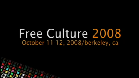 Free Culture Conference Video