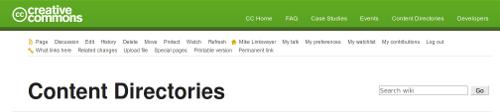 CC wiki screenshot