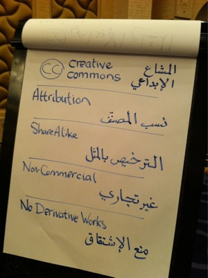 arabic translation of CC
