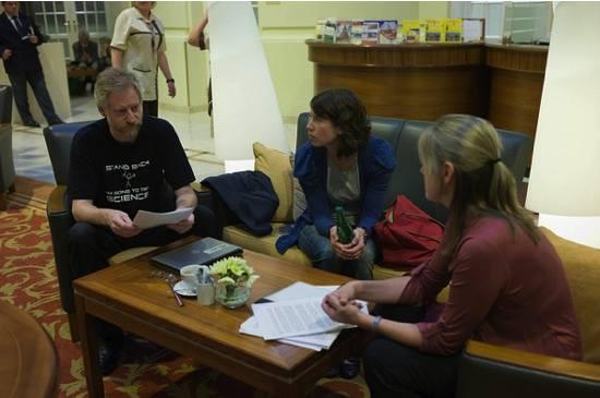 Michael Carroll, Sarah Hinchliff Pearson and Diane Peters