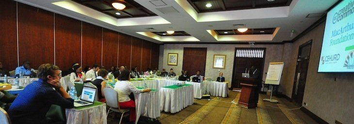 Creative Commons Africa Convening 2012 crowd