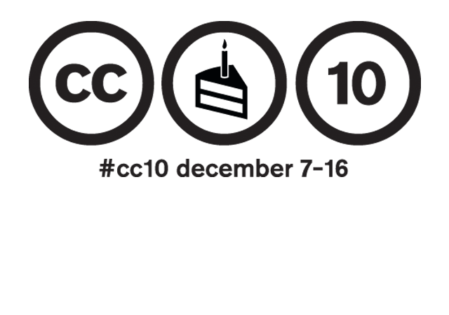 Creative Commons is turning 10!