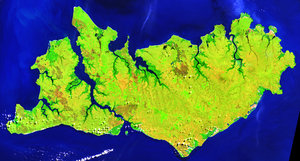 Landsat 5, Tiwi Islands, Darwin, Australia