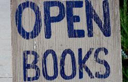 Open as in Books?