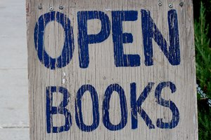 Open as in Books?