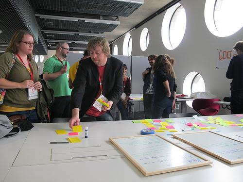 Collaborations Across the Open Space