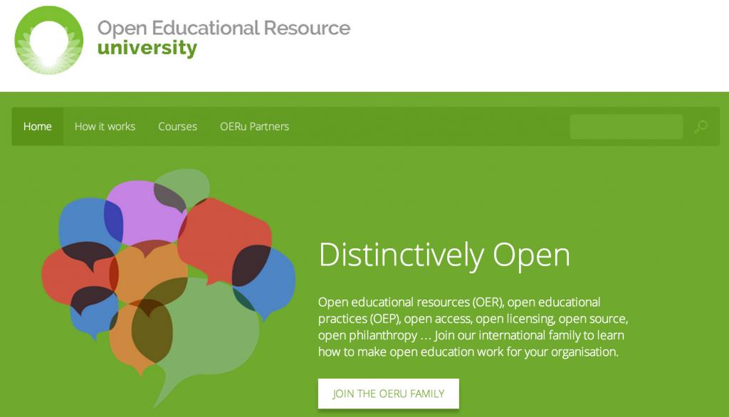 OERu Launches Worldwide - Creative Commons