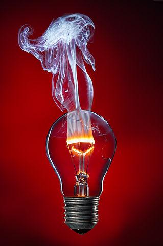 Glühwendel brennt durch