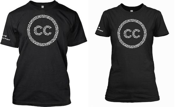 Koszulka Creative Commons 2015