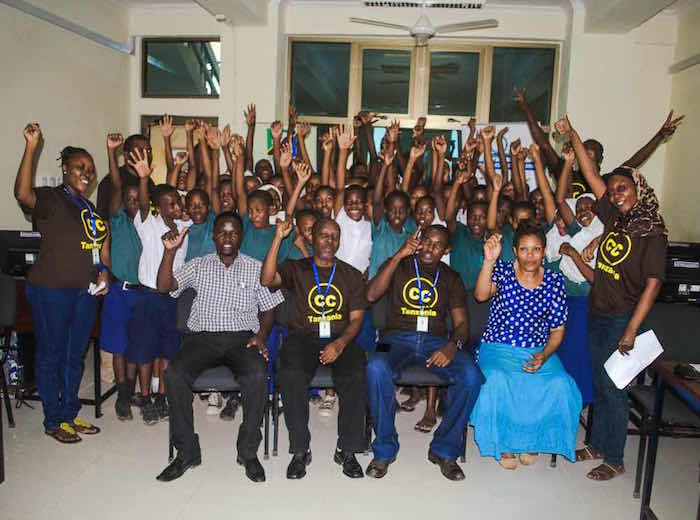 CC Tanzania expands OER and CC training to more primary schools