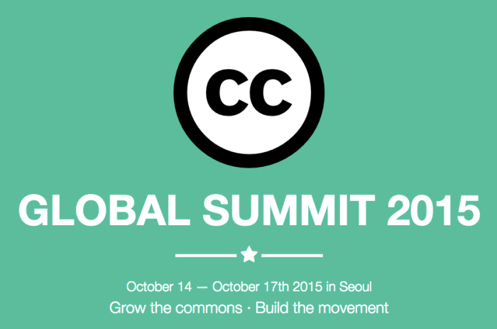 Reminder: submit your proposals for the 2015 Global Summit in Seoul