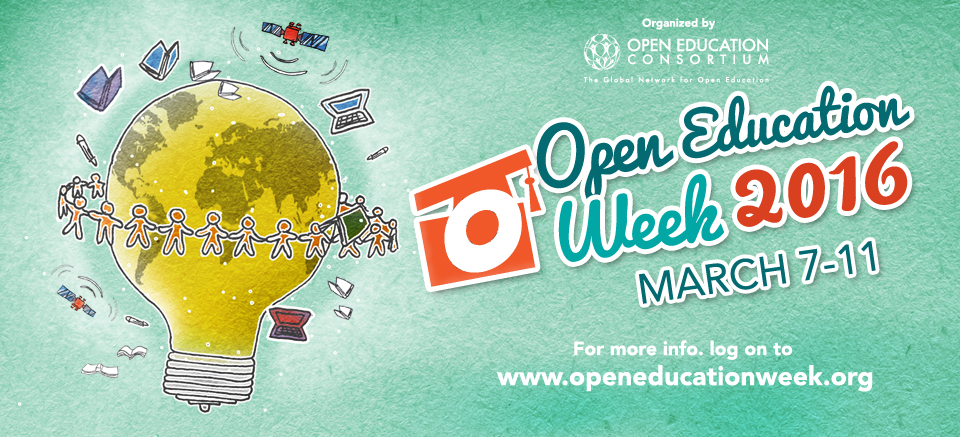 Open Education Week Banner