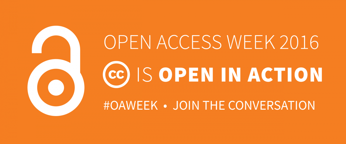 Open Access Week 2016: A Drumbeat for 'Open In Action'