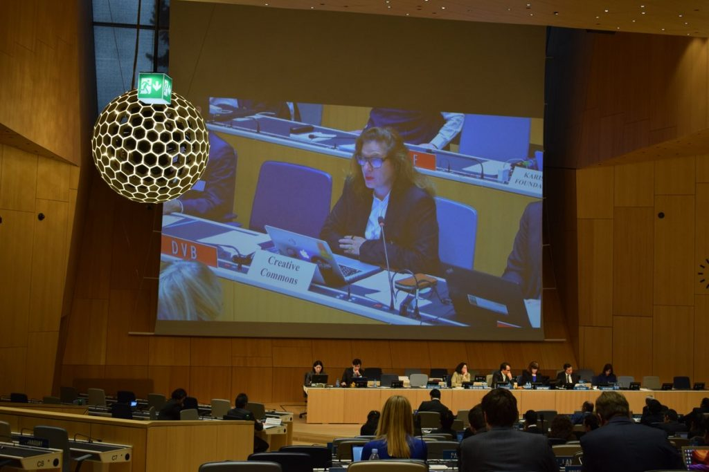 Delia Browne at WIPO