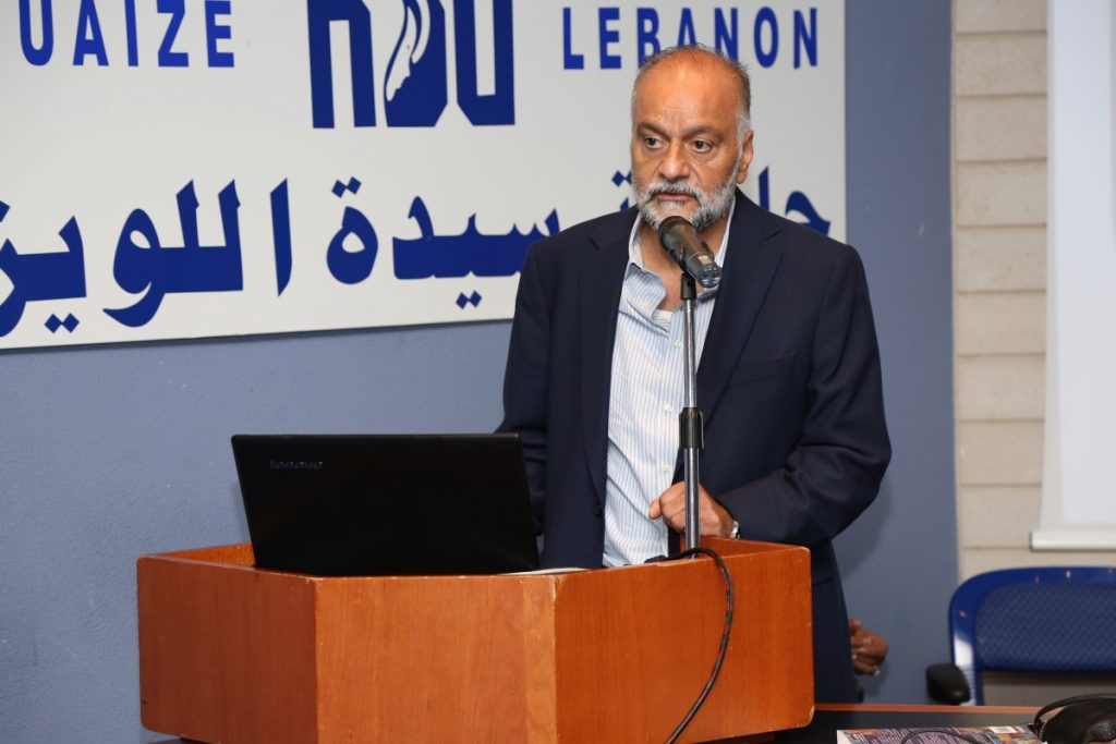 Dr. Kamal Abouchedid, Dean of the Faculty of Humanities