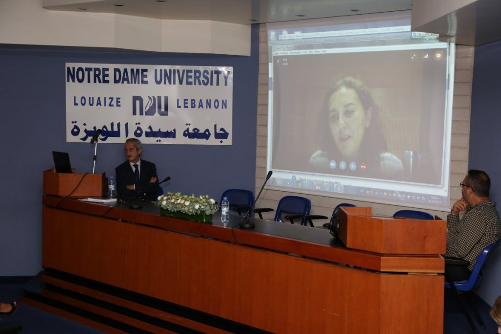 Joining the discussion from Denmark via Skype, Dr. Ena Hodzik