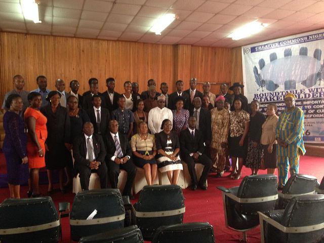 CC Nigeria Meeting. Photo by Kayode Yussuf. CC BY-SA
