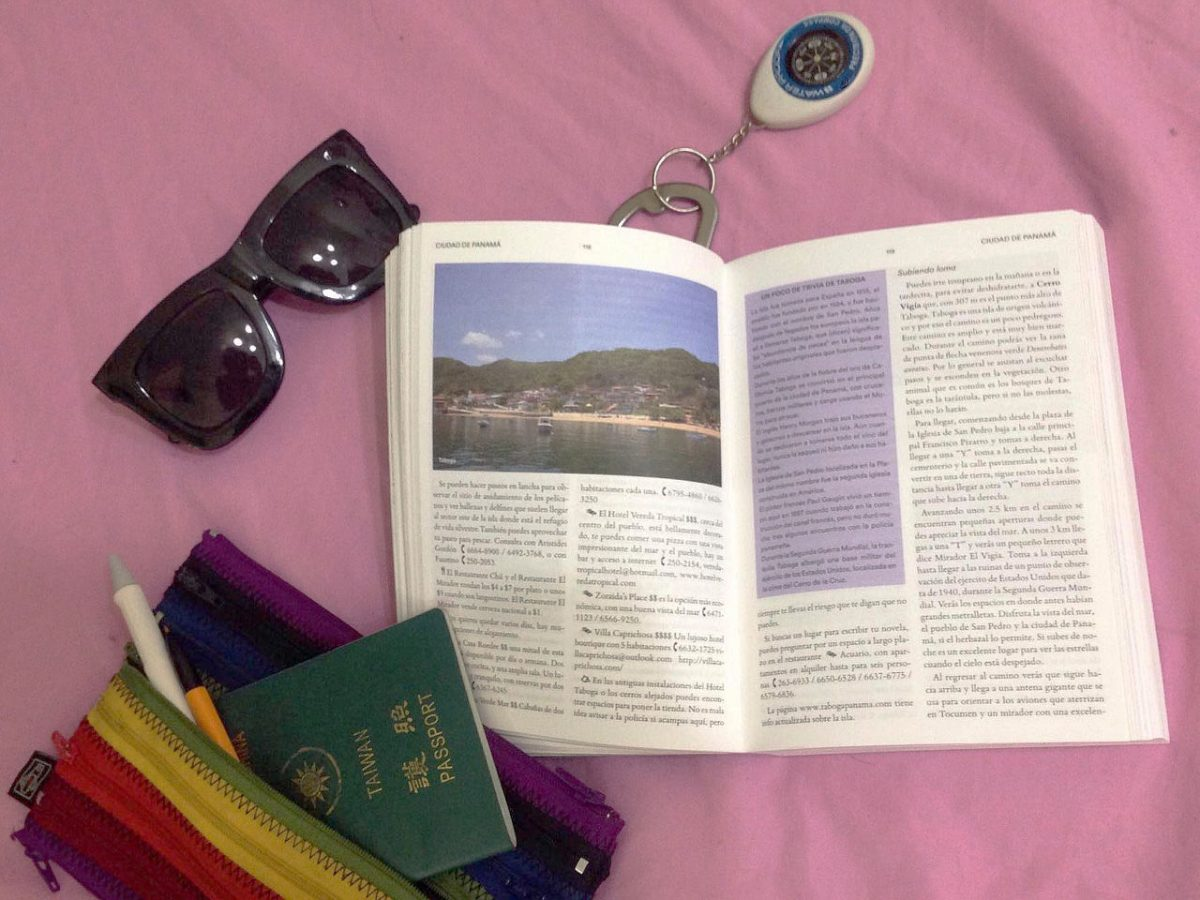 Almanaque Azul: a Panamanian travel guide licensed under CC