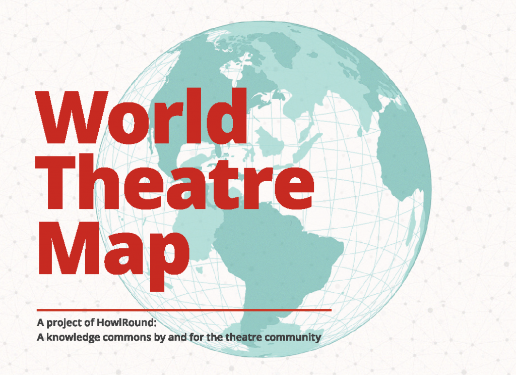 the world theatre map a digital commons for the global theatre