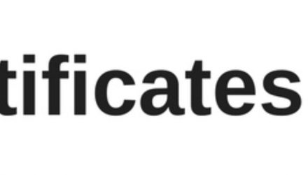 Certificates-wordmark