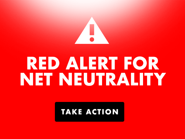 Red Alert For Net Neutrality Creative Commons