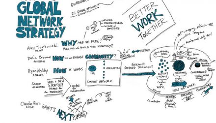 global-network-drawing