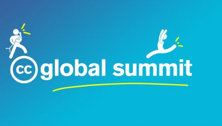 CC Global Summit logo with two icons