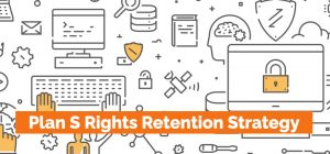Plan S Rights Retention Strategy Screenshot