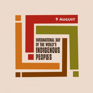 Logo for International Day of the World's Indigenous Peoples