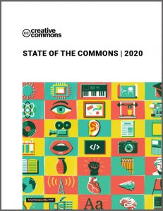 2020 State of the Commons Screenshot