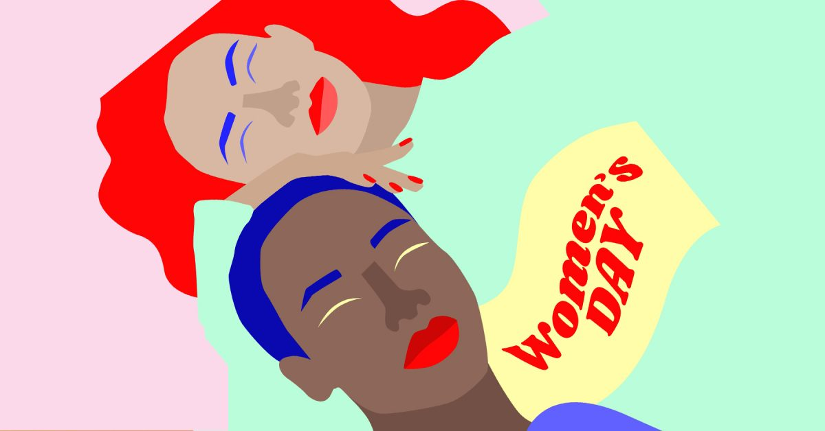Women's Day Illustration by Elsa Martino