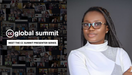 Meet the CC Summit Presenter: Comfort Onyaga
